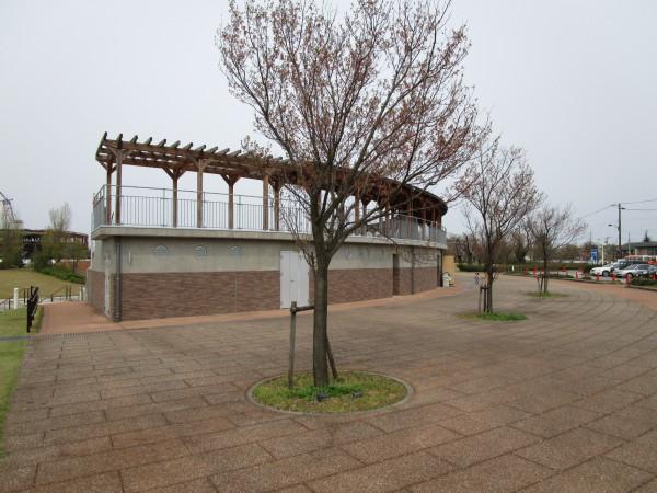 環水公園内の野外劇場