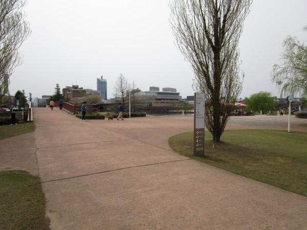 環水公園内の案内標識4