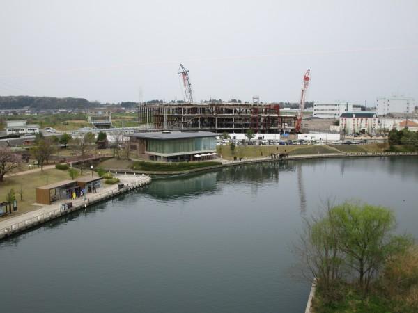 天門橋から見た環水公園の景色9