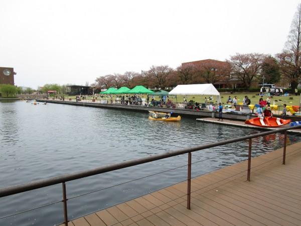 環水公園内でのイベント
