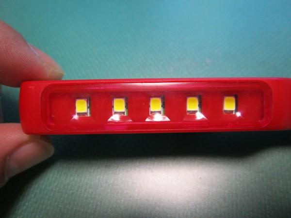 ペン型LEDライトの照明部分