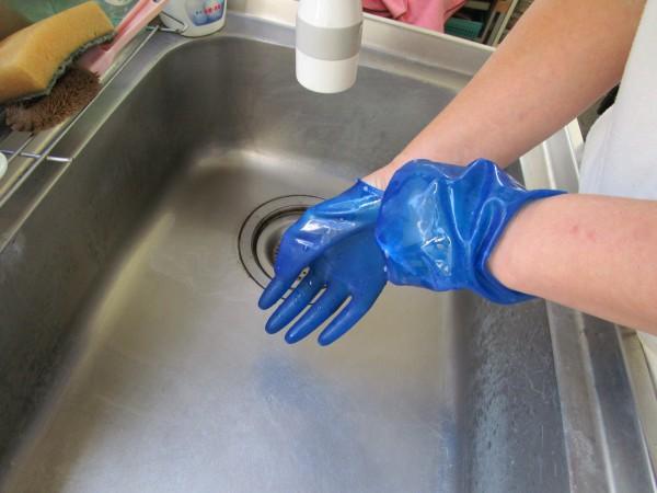 ゴム手袋の洗い方5