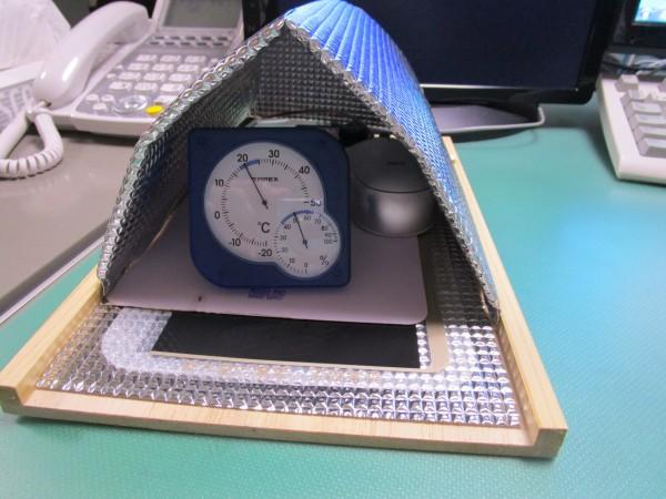 あったかマウスパッドの中の温度を計測