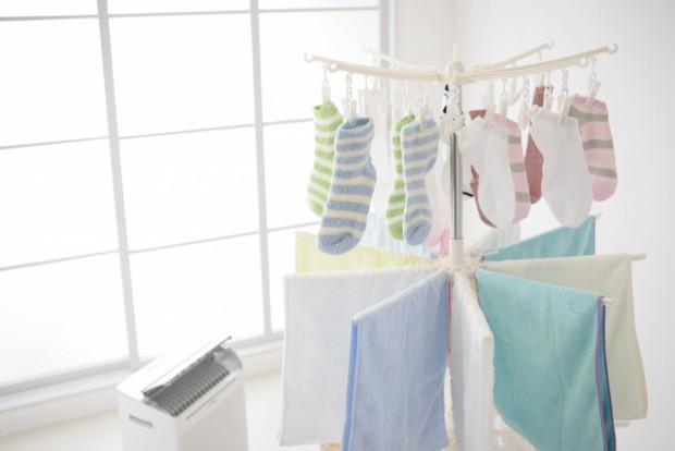 洗濯物の部屋干しテクニック