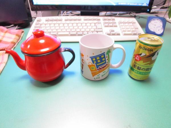 缶コーヒーを温める道具