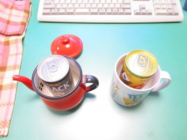 すぐに缶コーヒーを温める方法
